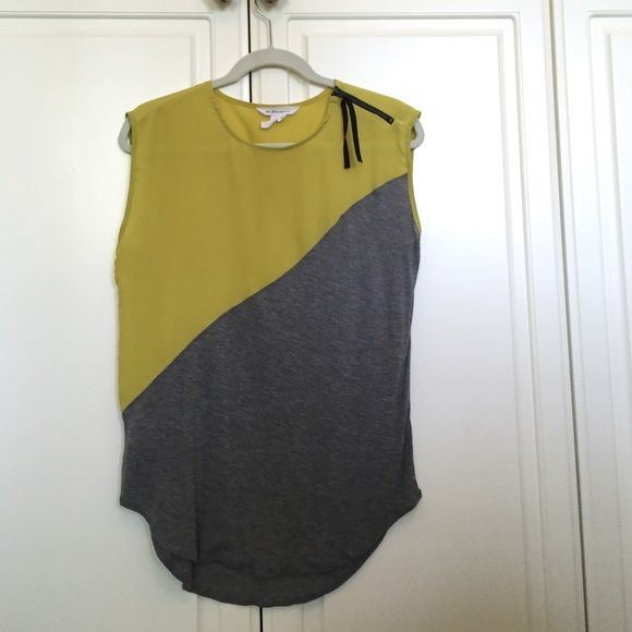 BCBGeneration top 100% polyester. Worn once. In great condition. No damage. BCBGeneration Tops