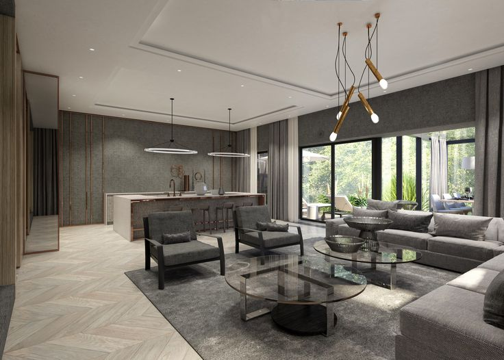 WARSAW GREY MODERN 3, project by EXITDESIGN