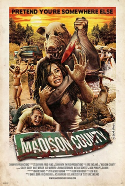 Madison County, Horror movie poster