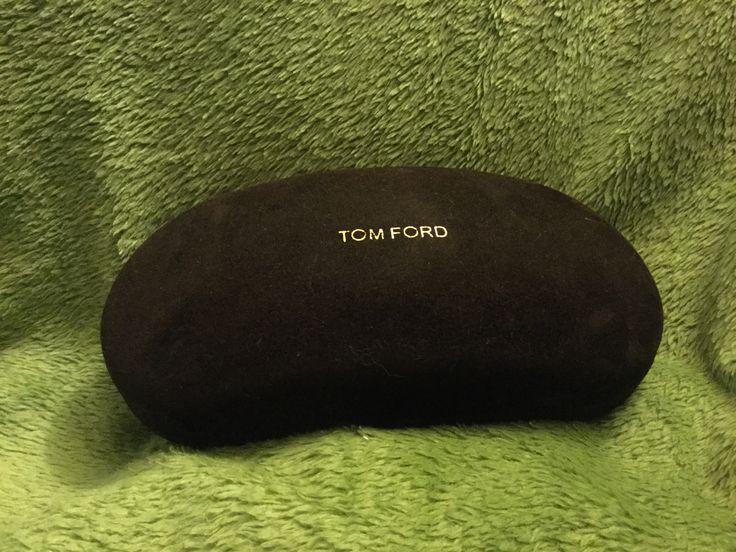 Brown Velvet Tom Ford Sunglasses Case (Found at Talize/Kitchener for $1.99 - 10% = $1.79)