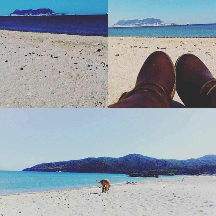 """""""Ese olor a #sal  #Algeciras #campodeGibraltar #arena #mar #morriña #gibraltar #playa #Getares"""""""