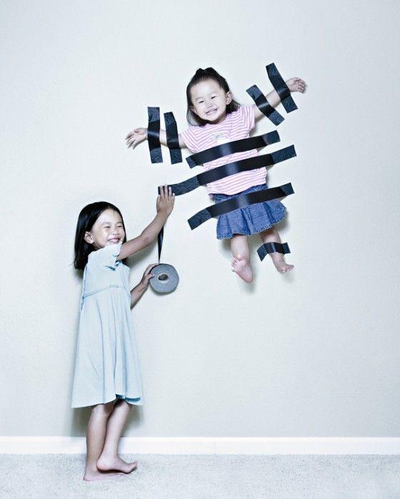 Hoezo standaard kinderfoto's! Erg leuk gedaan!