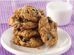 Sultana Bran Cookies, Melt and mix cookies