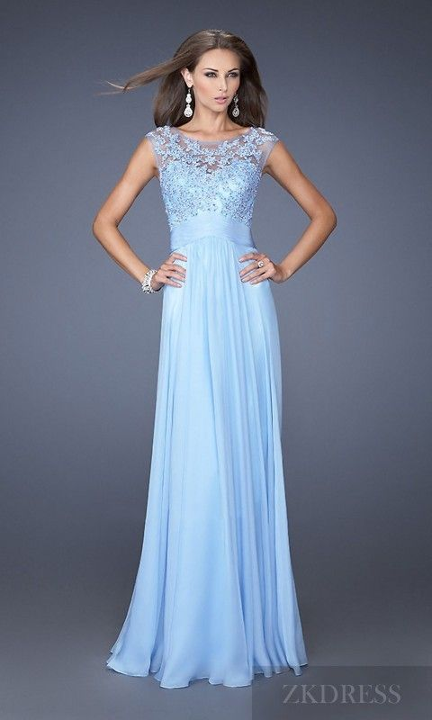 78  images about Dresses on Pinterest - Long prom dresses- Blush ...