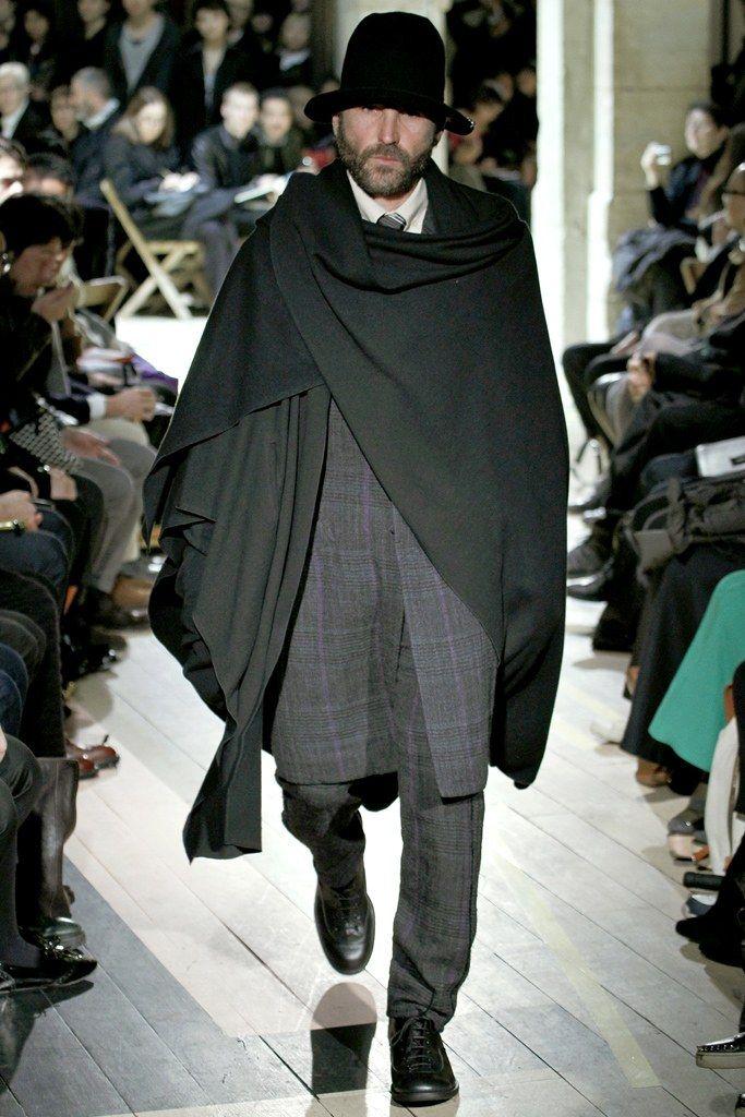 Yohji Yamamoto Fall 2012 Menswear Fashion Show - Adrian