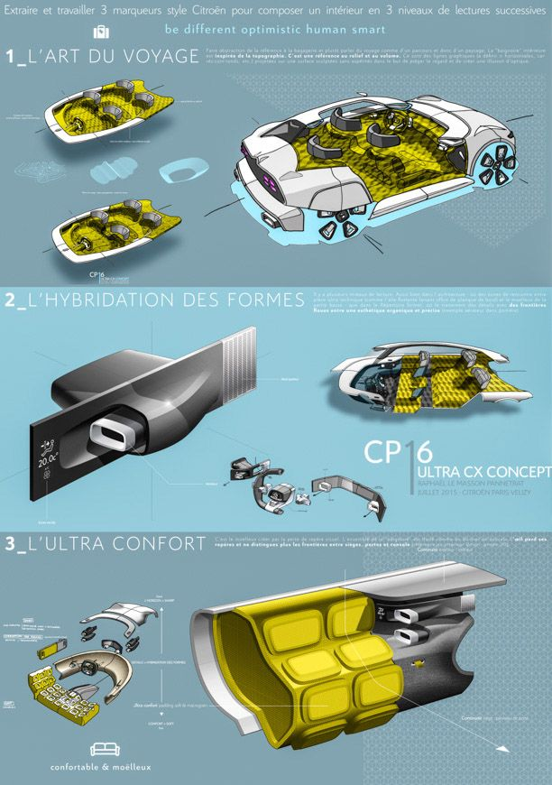 164 Best Images About Sketch Interior On Pinterest Peugeot Volkswagen And Behance