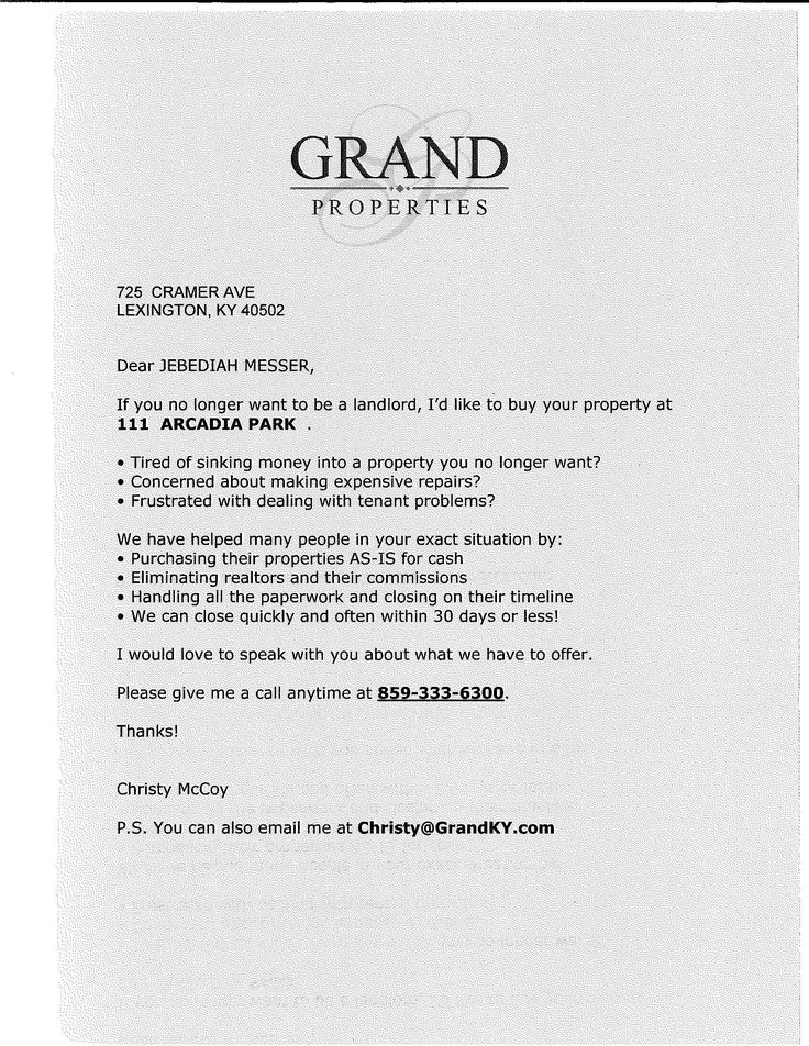 46++ Home offer personal letter sample ideas