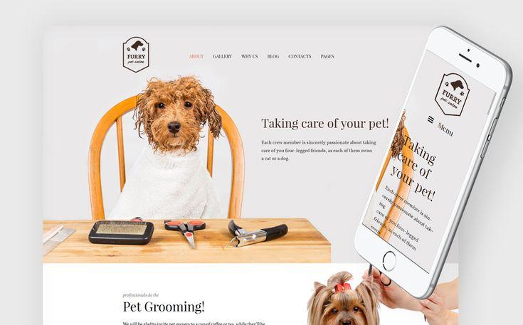 Wenn Sie Haustierpflegedienste anbieten und Ihre eigene Website starten möchten, wählen Sie unser WP Theme zum Thema Tierpflege. Es wird perfekt die Bedürfnisse der Tierpflege und Veterinär-Unternehmen erfüllen