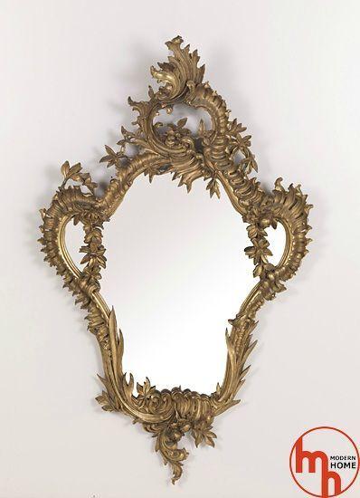 Зеркало и аксессуары для гостиной Jumbo Collection - Gilded mirror end 19th C. фото №1