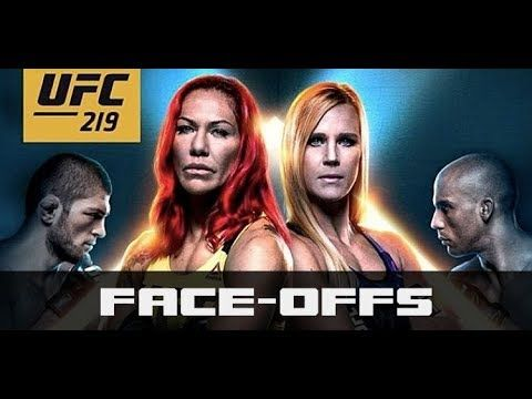 MMA UFC 219: Holly Holm vs. Cyborg Faceoffs (Live from Media Day)