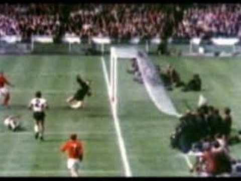 "The famous ""Wembley goal"" 1966"