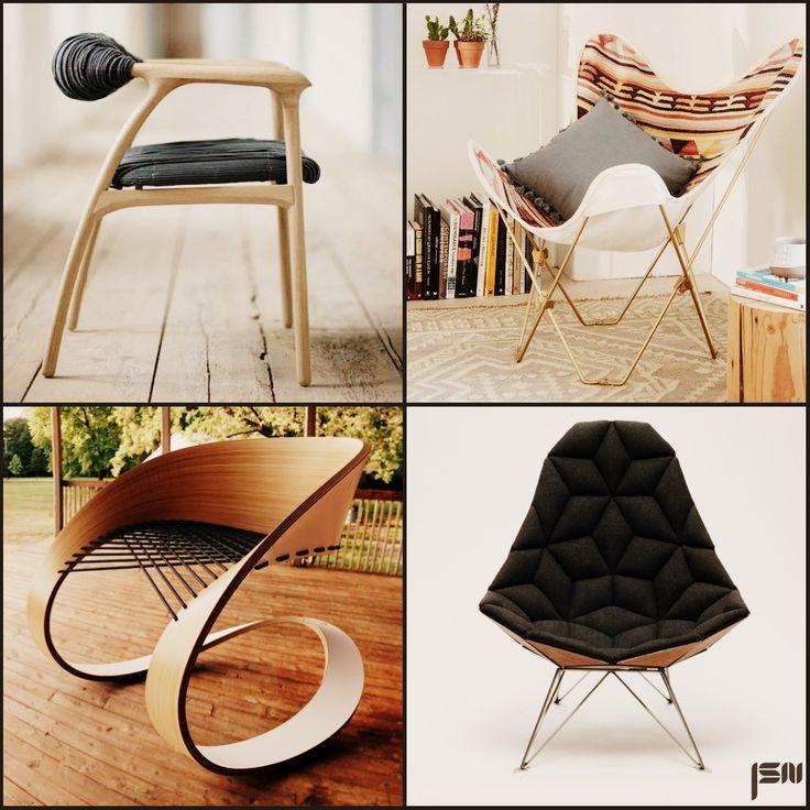 Очень оригинальные стулья.