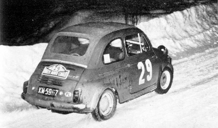 Steyr Puch 650 TR - Rally of Monte Carlo 1965