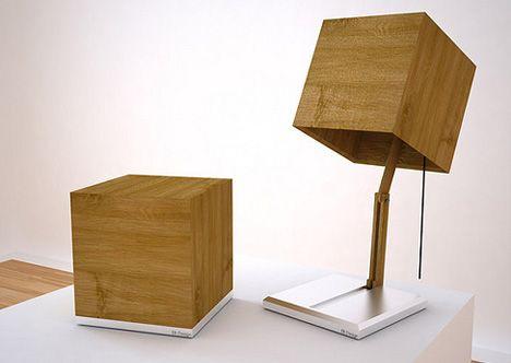 Wood Cube Shade