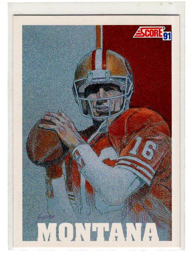 Joe Montana . . Sports Cards .. NFL Trading Cards .. $1.00