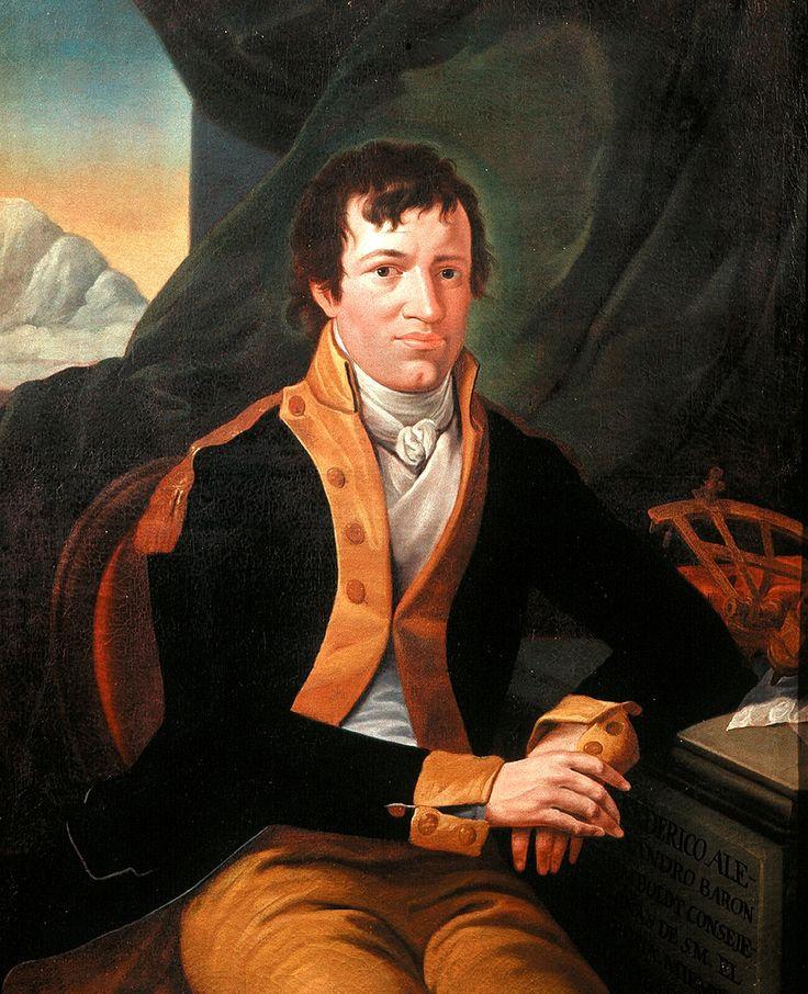 "Alexander Von Humboldt, 1803,   Museo de la Ciudad de México by Gianni Dagli Orti - ""The Very Great Alexander von Humboldt"",  ""The Invention of Nature: Alexander von Humboldt's New World"" by Andrea Wulf - http://www.nybooks.com/articles/2015/10/22/very-great-alexander-von-humboldt/"
