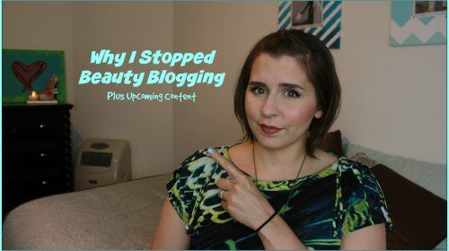 Why I Stopped Beauty Blogging