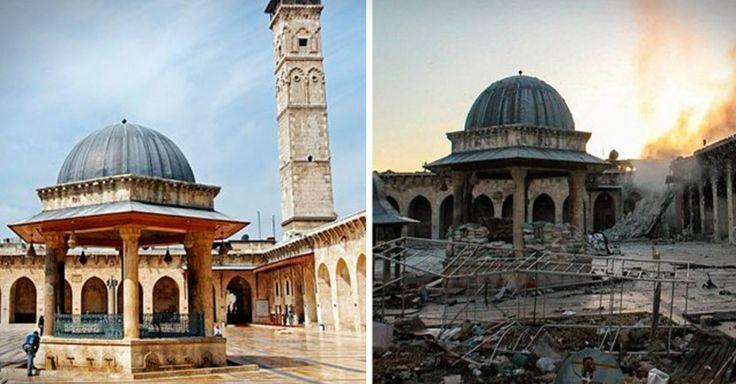 La destrucción de una ciudad tras tres años de guerra: así es hoy Homs, en Siria, desde la cámara de un drone ruso. Este video se ha vuelto viral en el mundo.