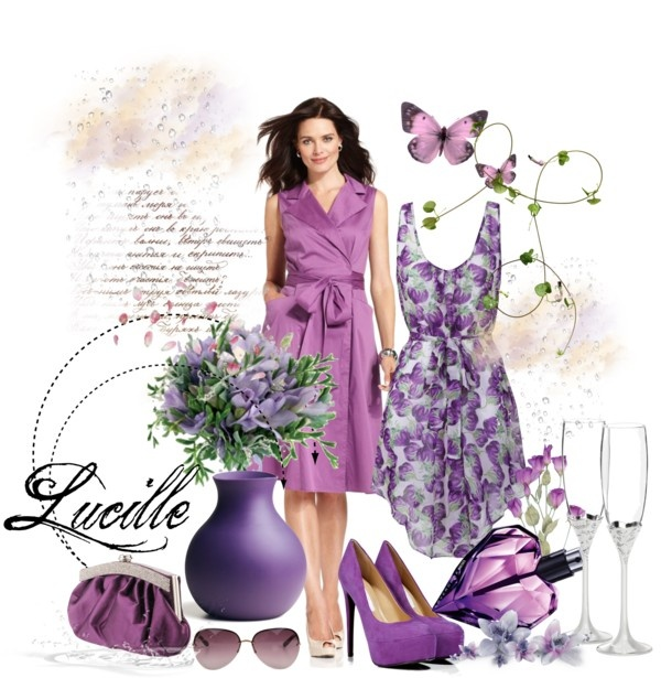 """Lucille"" by oxalis4de ❤ liked on Polyvore"