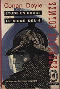 Étude en rouge / le signe des 4 / sherlock holmes par Arthur Conan Doyle