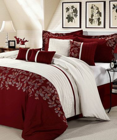 Take a look at this Duchess Comforter Set by Chic Home Design on #zulily today!