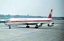 Air Canada DC-8-61 at Montréal-Pierre Elliott Trudeau International Airport
