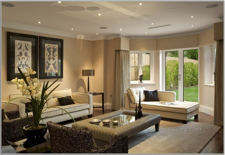1000 ideas about cream sofa on pinterest glass tables - Living room with cream leather sofa ...