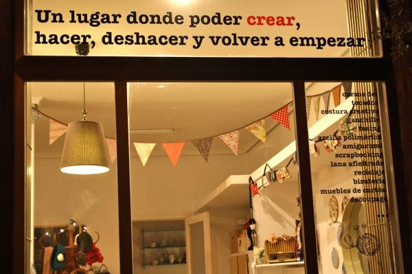 1000 images about tiendas manualidades en madrid on pinterest - Cursos de manualidades en madrid ...