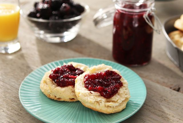 SURE.JELL® for Less or No Sugar Needed Recipes - Blackberry Freezer Jam Recipe