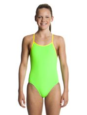 Still Brasil Swimwear Girls Diamond Back One Piece