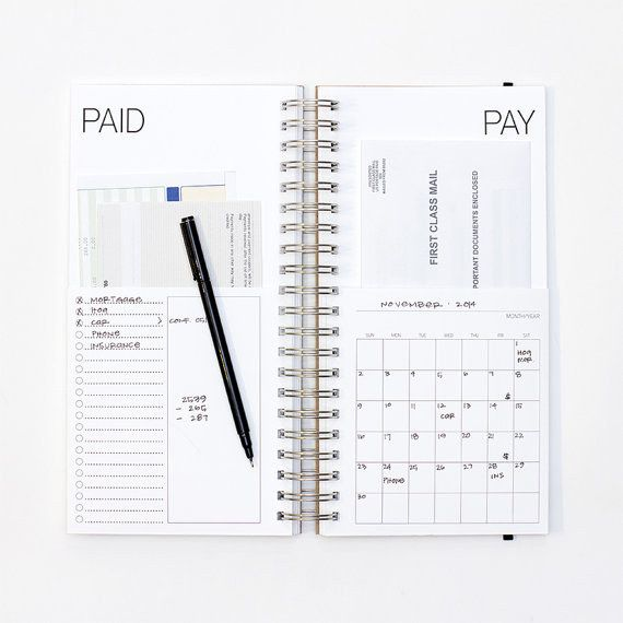 Best 25+ Bill Pay Organizer Ideas On Pinterest | Bill Pay, Bill