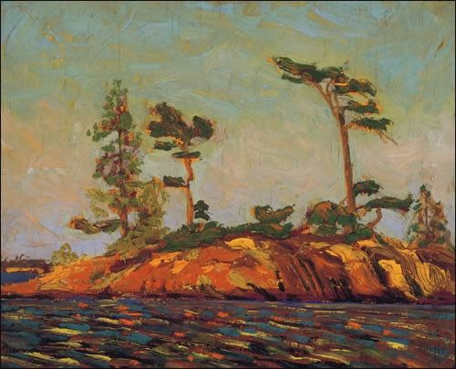Tom Thomson Split Rock Georgian Bay