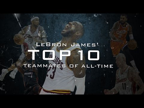 Ranking LeBron James' 10 best teammates among the 132 players who have been on his teams with the Cleveland Cavaliers and Miami Heat.