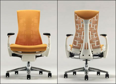 Embody chair by Herman Miller  I've got one, and absolutely nothing else compares for comfort