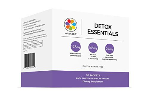 Detox Essential Hormone Balancing Packets from Dr Sara Gottfried author of The Hormone Reset Diet * ** AMAZON BEST BUY **