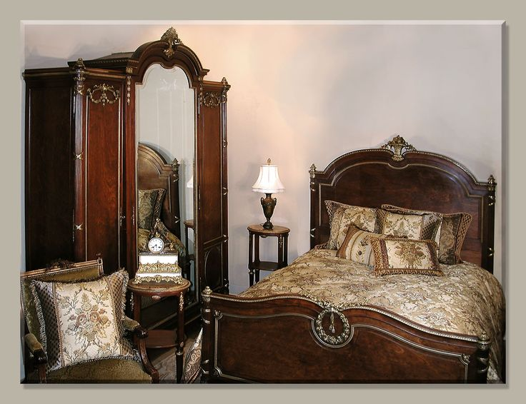 Antique Beds U0026 Bedrooms ~ Historical Origins | Antiques In Style · Antique  Bedroom FurnitureAntique ...