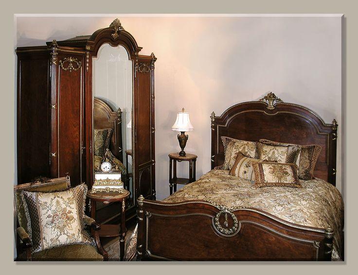 98 best antique bedroom furniture images on Pinterest