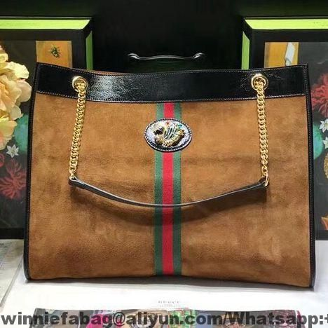 50319eefa6cc8f Gucci Suede Leather Rajah Large Tote 537219 | Gucci in 2019 | Gucci ...