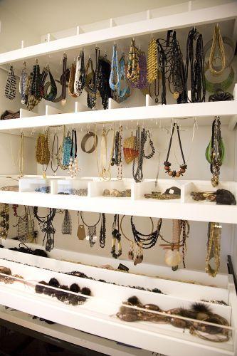 Closet  de bijuterias- Casa e Decoração - UOL Mulher