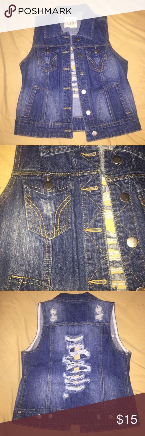 Short sleeve jean jacket Short sleeve Jean jacket Jackets & Coats Jean Jackets