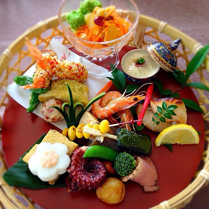 もとぱん's dish photo ㊗️母の日 花かご御膳