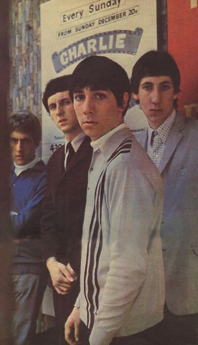 "There is knowing how to be cool at exactly the right time, and THEN there's TheWho ...who wrote the book you're trying to learn from.   (The Who, promo photos for forth coming second album ""A quick one"" for release the following year. 1965)"