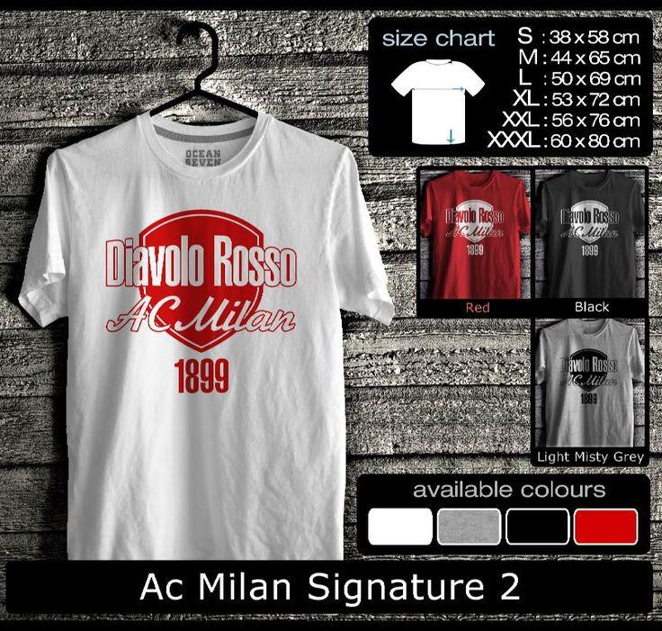 Kaos AC Milan FootBall Club | Kaos Milanisti 1