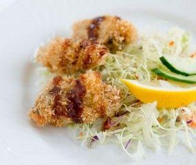Gefrituurde oesters