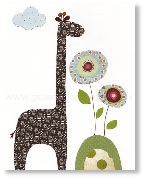 Baby Boy Nursery Decor Art Kids Art Kids Room By Galerieanais: 25+ Best Ideas About Baby Giraffe Nursery On Pinterest