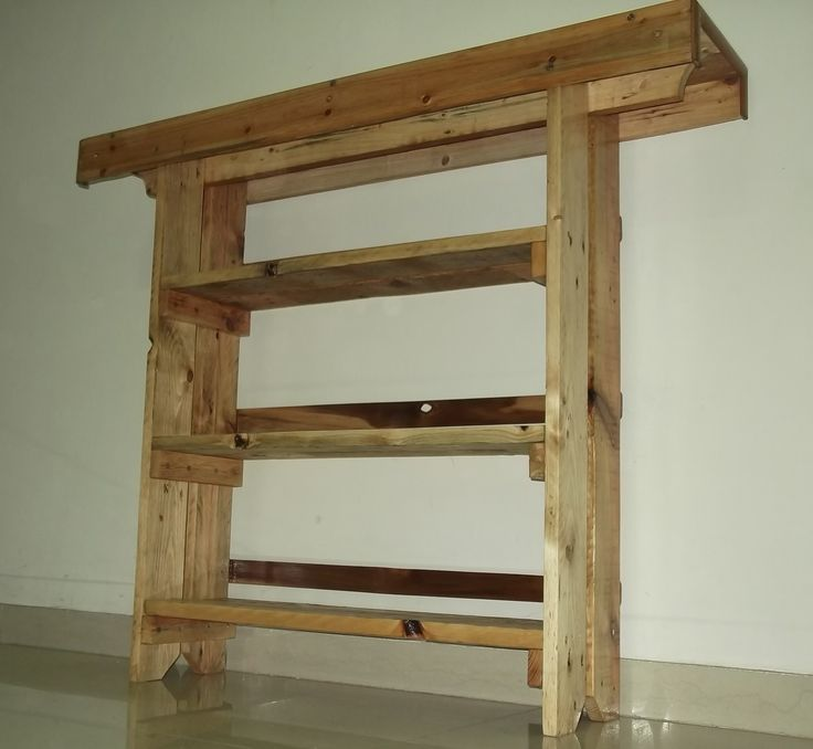 1000 images about pallets shoes zapatera pallets on for Pallet aquarium stand