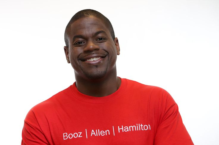 Marcel Anderson is a volunteer with FIRST robotics. #community #usfirst #firstrobotics #boozallen