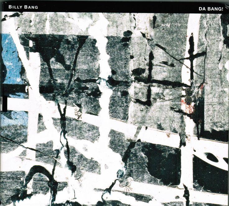 "2013 Billy Bang - Da Bang! [TUM Records TUMCD034] artwork: Jukka Mäkelä ""Hip-Hop Blue"" (2004) #albumcover #Abstract #art #Jazz #music"