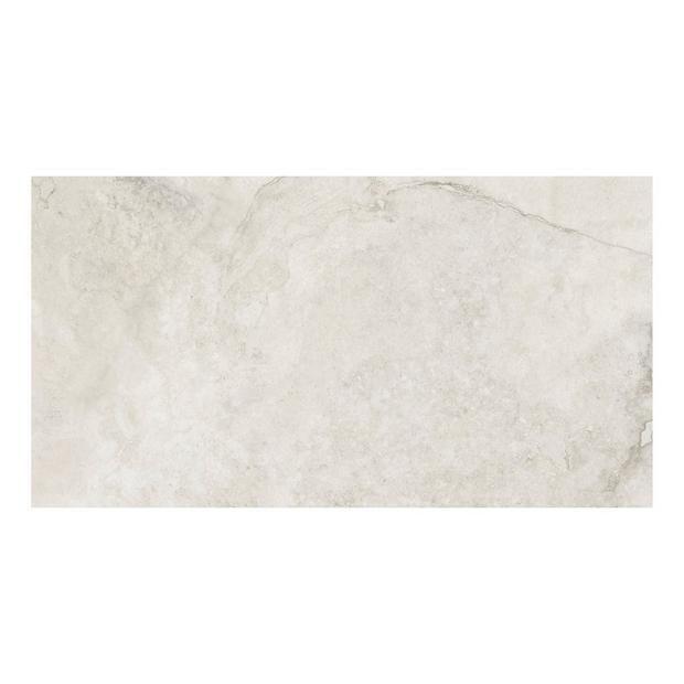 kodiak white ii polished porcelain tile