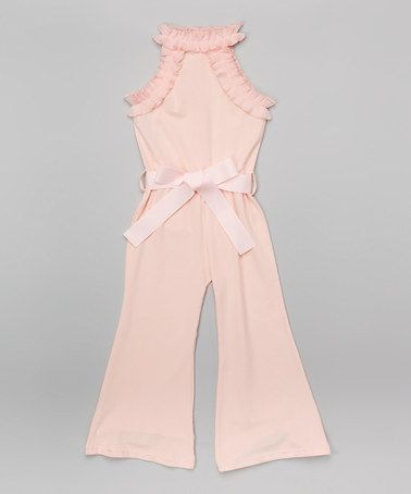 Love this Pink Jumpsuit - Infant, Toddler & Girls on #zulily! #zulilyfinds